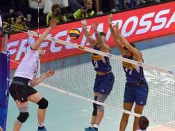 L'Italia alza un muro con Zaytsev e Anzani. Fivb