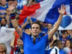 Pouille ha firmato il 2-0 per la Francia GETTY