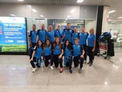 I nove azzurri in partenza per la Premier League di Berlino
