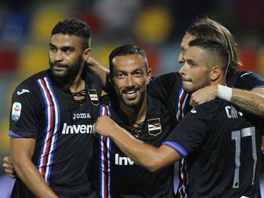 Samp, che spettacolo: 5-0 Il Frosinone sempre più giù