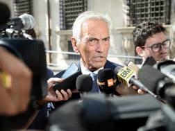 Gabriele Gravina, presidente di Serie C. Lapresse