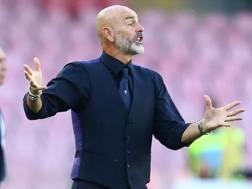 Stefano Pioli, allenatore della Fiorentina. Afp