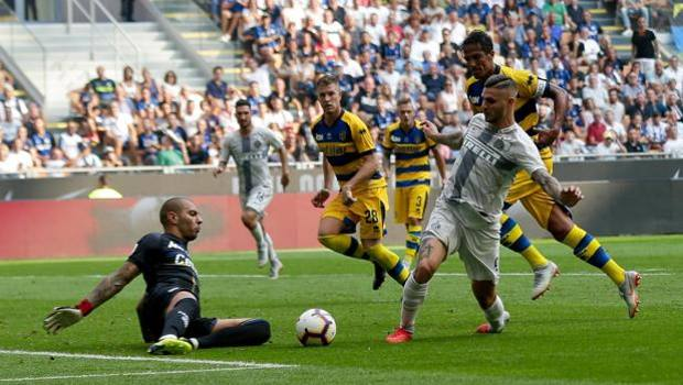 Image result for Parma shock Inter at San Siro