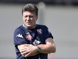 Mazzarri, allenatore del Torino. Lapresse