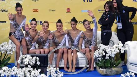 L'Italia (Anna Basta, Martina Centofanti , Agnese Duranti , Alessia Maurelli, Martina Santandrea). IPP
