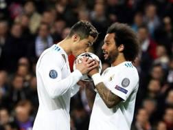 Cristiano Ronaldo, Marcelo. EPA