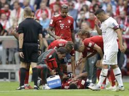 La preoccupazione del Bayern per l'infortunio di Tolisso . Ap