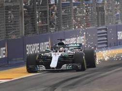 Lewis Hamilton. Afp