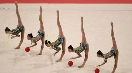 D cialda in ostia ginnastica ritmica atleti torta decorazioni