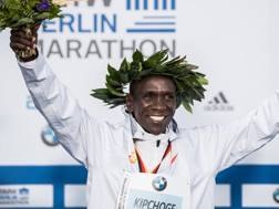 Eliud Kipchoge, 33enne keniano. GETTY