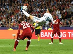 La rovesciata di Gareth Bale in finale di Champions. GETTY