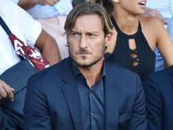 Francesco Totti, 41 anni. Ansa