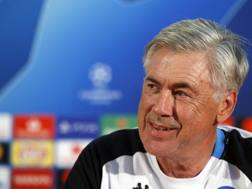 Carlo Ancelotti, allenatore del Napoli. Lapresse