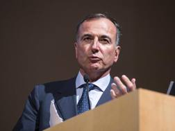 Franco Frattini, presidente del Collegio di Garanzia del Coni. Ansa