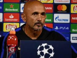 Luciano Spalletti, seconda stagione alla guida dell'Inter. Getty Images