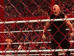 L'urlo di Brock Lesnar, che distrugge Reigns e Joe. Gazzetta