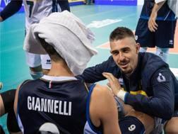 Michele Baranowicz, 29 anni catechizza Simone Giannelli, 22