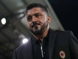 Gennaro Gattuso, tecnico del Milan. Lapresse