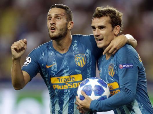 L'Atletico piega il Monaco Vincono Dortmund e Gala