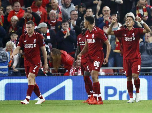 Firmino all'ultimo respiro Il Liverpool stende 3-2 il Psg
