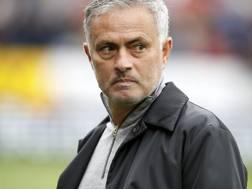 José Mourinho, allenatore del Manchester United. Ap
