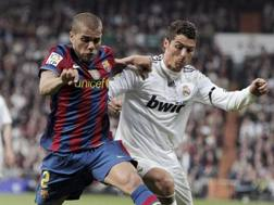 Dani Alves, Cristiano Ronaldo. EPA