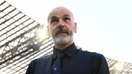 Stefano Pioli al San Paolo. Lapresse