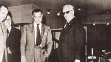 Gianni Agnelli (1921-2003) con Enzo Ferrari (1898-1988)