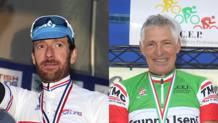 Bradley Wiggins  e Francesco Moser