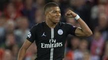 Kylian Mbappé. Getty