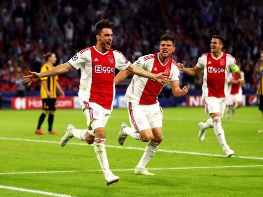 Maycon salva lo Shakthar Tagliafico trascina l'Ajax