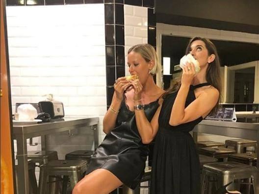 Federica Pellegrini e Valentina Marchei su Instagram