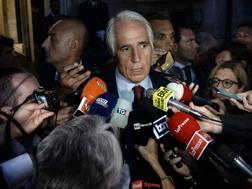 Il presidente del Coni Giovanni Malagò. Lapresse