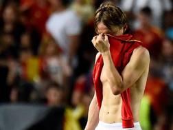 Luka Modrić, 33 anni, in forza al Real Madrid e faro della sua Croazia. Afp