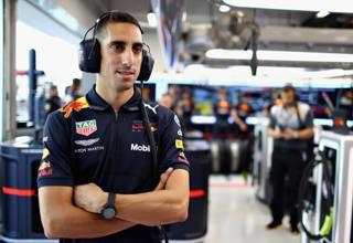 Sebastian Buemi, 29 anni, svizzero qui in tenuta Red Bull: quest'anno ha vinto la 24 Ore di Le Mans con Toyota GETTY