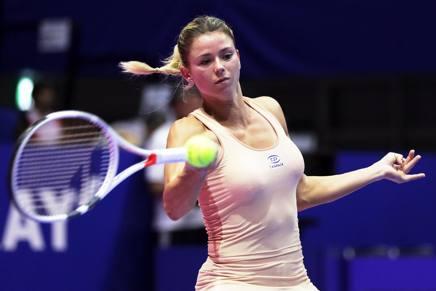 Camila Giorgi, 26enne di Macerata, quest'anno ha raggiunto i quarti a Wimbledon EPA