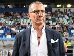 Andreazzoli, allenatore dell'Empoli. Lapresse