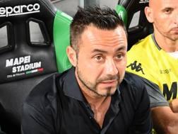 De Zerbi, allenatore del Sassuolo. Lapresse