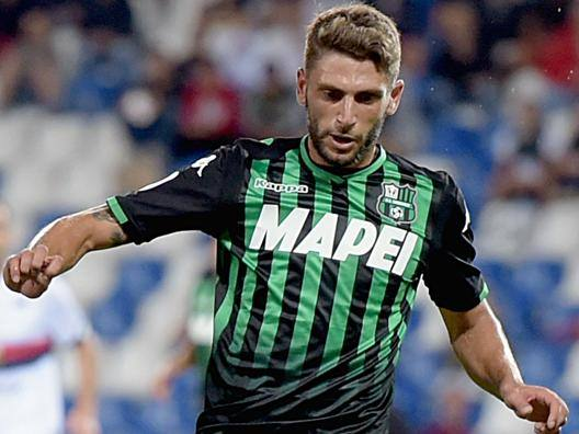 Domenico Berardi, attaccante del Sassuolo. Getty Images