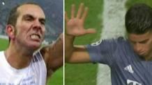 Le reazioni di Mazzone e James Rodriguez