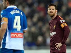 Lionel Messi. Liga, Afp