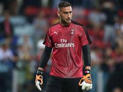 Gigio Donnarumma, 19 anni, portiere del Milan. Lapresse