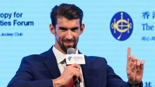 Michael Phelps. Afp