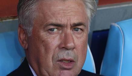 Carlo Ancelotti, allenatore del Napoli. Ansa