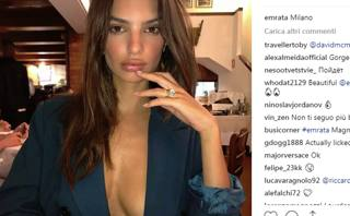 L'ultimo post di Emily Ratajkowski, 27 anni. Instagram