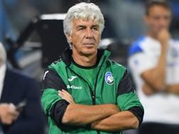 Gasperini, allenatore dell'Atalanta. Getty