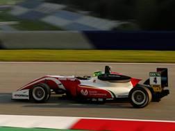 Mick Schumacher in azione in Austria