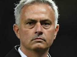 Jose Mourinho, allenatore del Manchester United. Afp