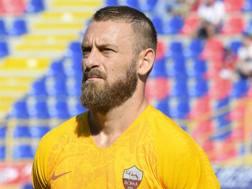 Daniele De Rossi, centrocampista della Roma. LapresseDaniele De Rossi, centrocampista della Roma. Lapresse