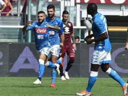 Vittoria del Napoli a Torino. Ansa